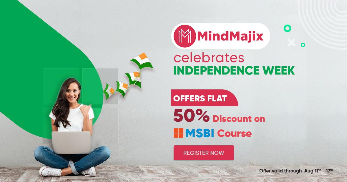 MSBI Course Offer