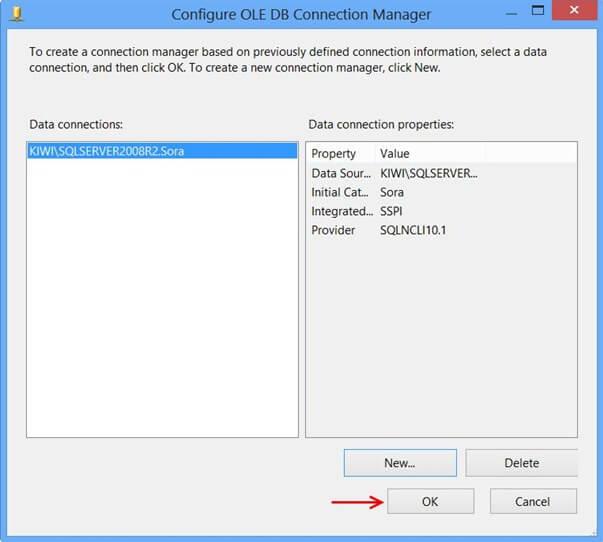 Ole DB Configuration