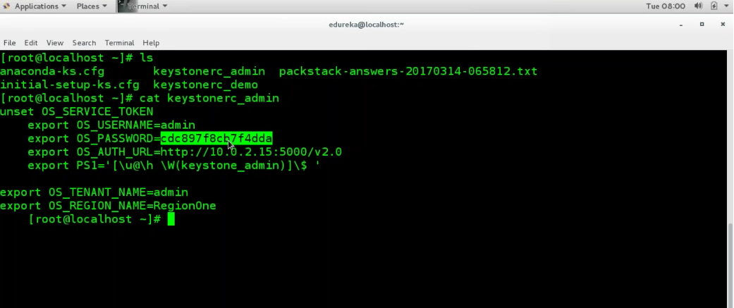 Installing OpenStack Dashboard