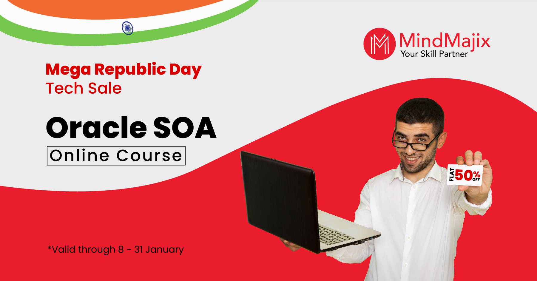 Oracle SOA Mega Republic Day Tech Sale Offer