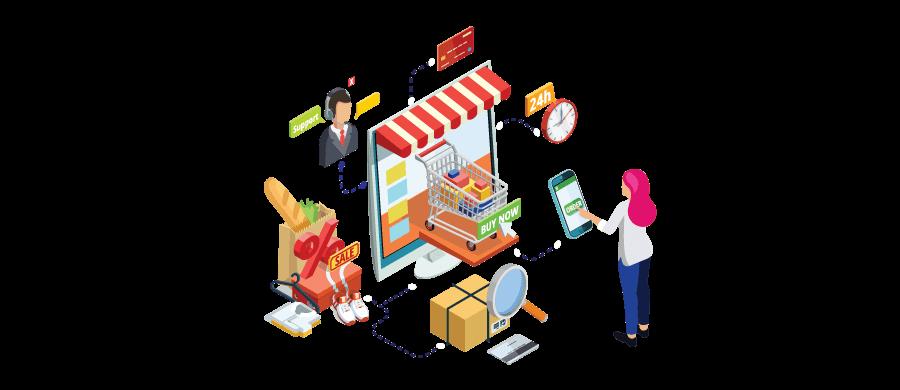 order updates for eCommerce website
