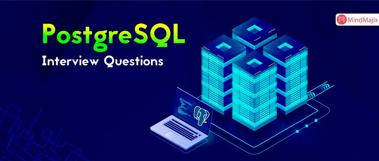 PostgreSQL Interview Questions