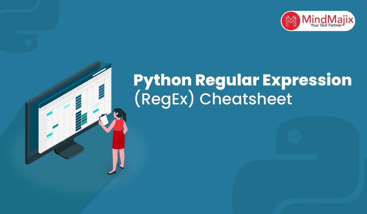 Python Regular Expression (RegEx) Cheatsheet