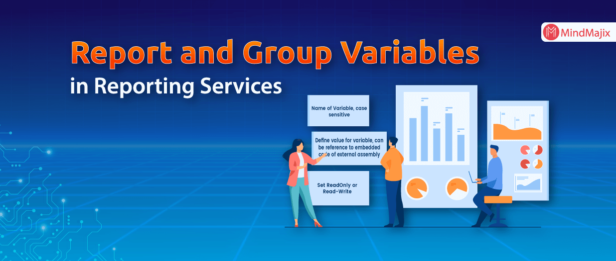 Report and Group Variables in Reporting Services - MSBI