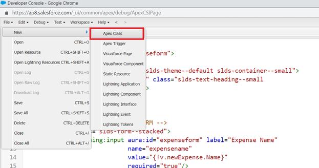 Apex Server-Side Controller