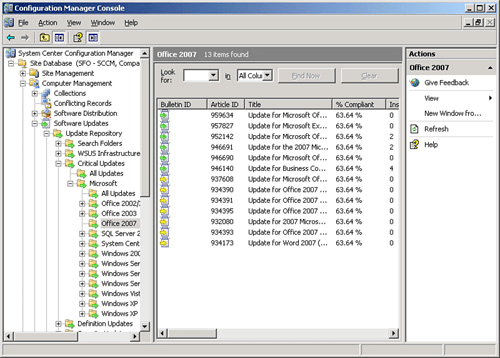 SCCM related to Patching & Updating Systems