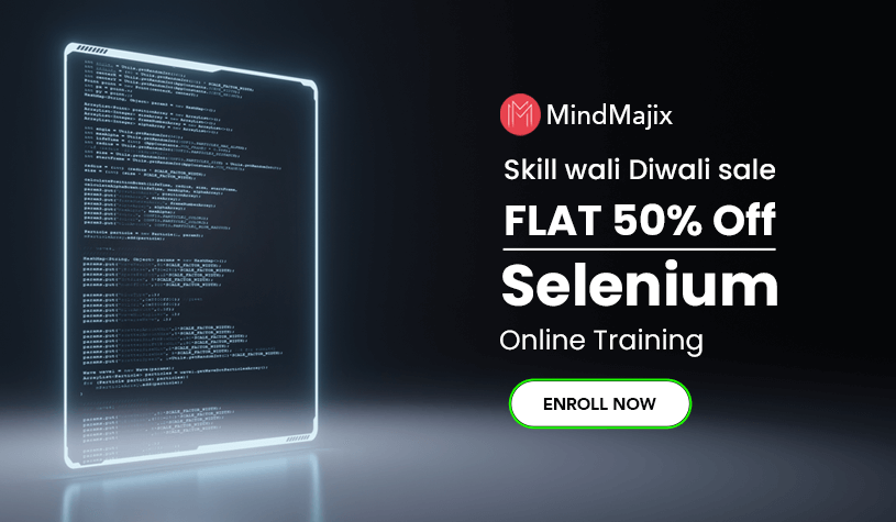 Selenium Training Course Diwali Offer
