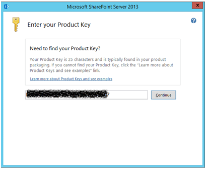 Installation of Sharepoint