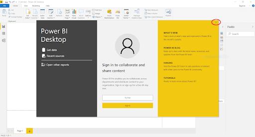 Power BI Download Download Start Page
