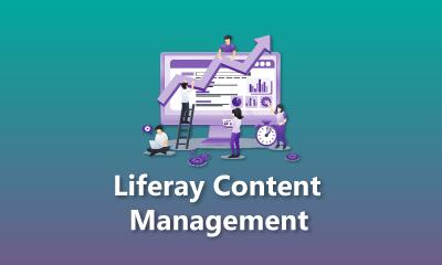 Liferay Content Management Training