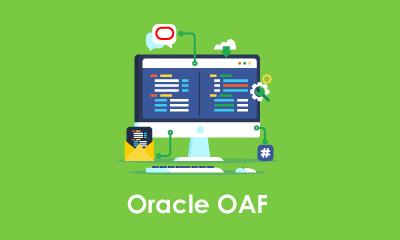 Oracle Application Framework (OAF) Training